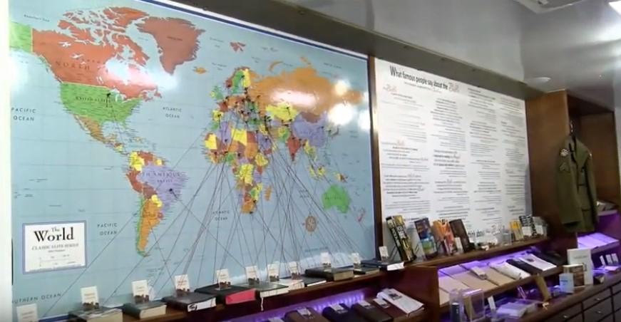 Передвижной музей Библии (2)